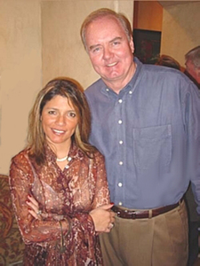 Mike and Madelaine Rohan in 2003